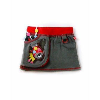 Skirt WIndow grey + Fish toy
