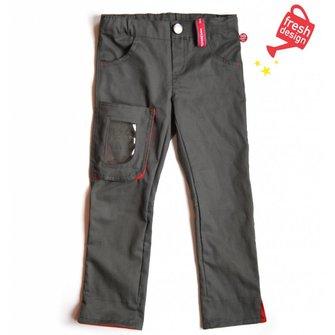 *NEW* stoere broek met gave doorkijk zak