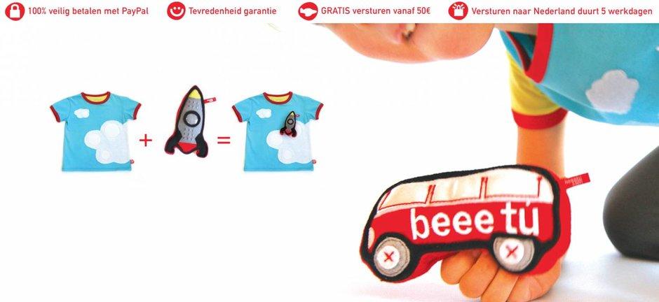creatieve t-shirts met speeltjes