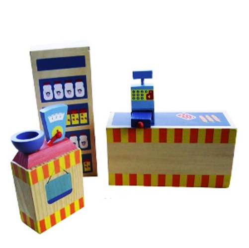Charl's Design Toys Supermarkt