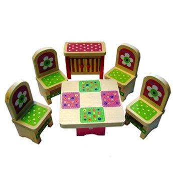 Charl's Design Toys Vrolijke eetkamer