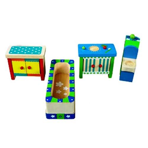 Charl's Design Toys Kleurrijke badkamer