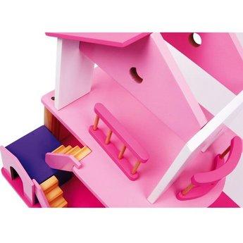 Legler Houten poppenhuis Pink