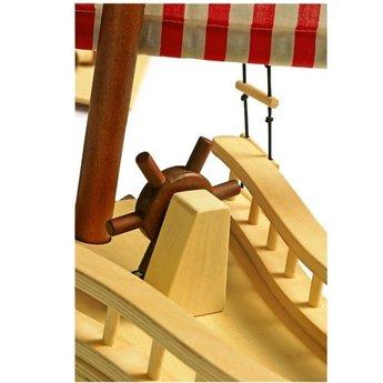 Legler Houten speelgoed Piratenschip