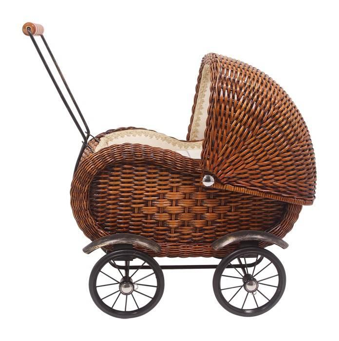 Legler Rieten poppenwagen Elisabeth (wickerwork)