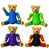 Charl's Design Toys Poppenhuis poppetjes houten beren