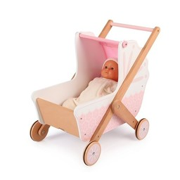 Tidlo 3 in 1 houten poppenwagen