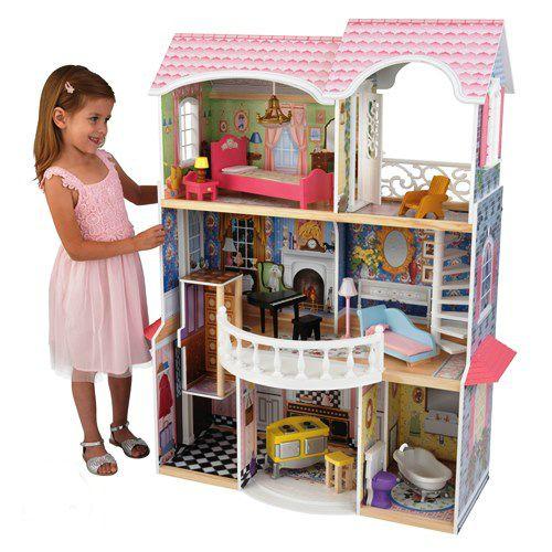 Barbiehuis online kopen het houten poppenhuis for Barbiehuis meubels