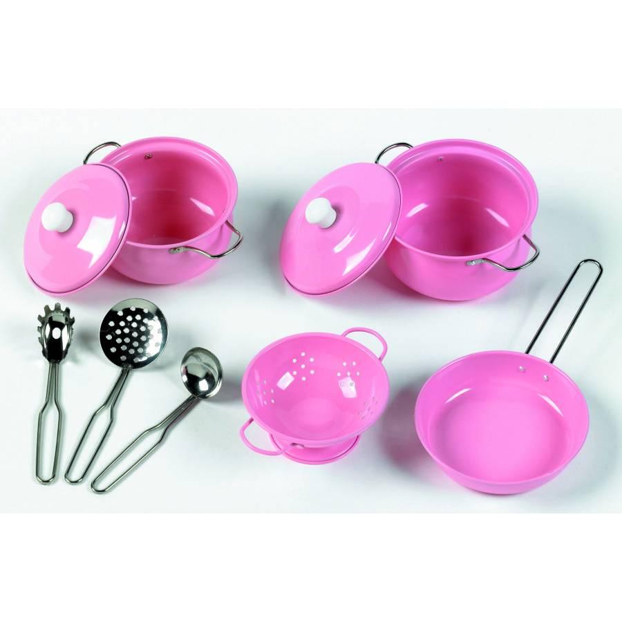 Keuken Accessoires Kinderkeuken : Tidlo Keuken Kookset Roze -