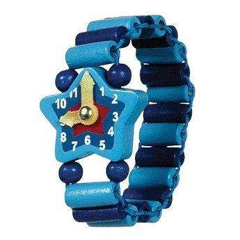 Bigjigs Houten horloge ster