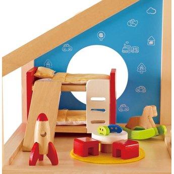 Hape Poppenhuis Slaapkamer Kinderen