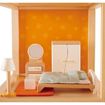 Hape Poppenhuis Ouder Slaapkamer