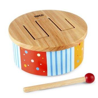 Tidlo Houten regenboog drum