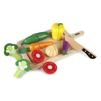 Tidlo Houten Snij groenten set