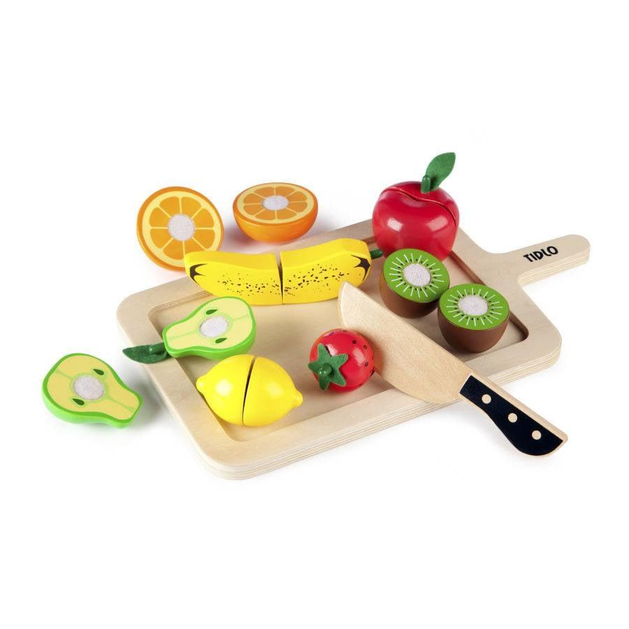 Tidlo houten snij fruit set bestel eenvoudig het for Nep fruit waar te koop