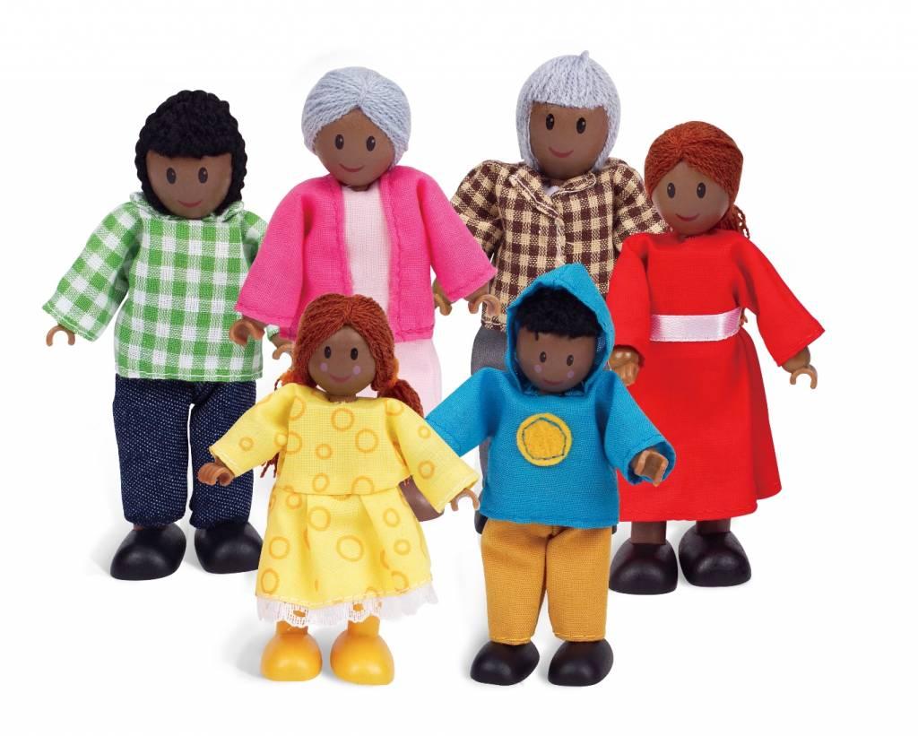 Poppenhuis poppetjes african family for Poppenhuis poppetjes