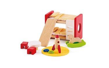 Houten poppenhuis ruim assortiment het houten poppenhuis for Meubels poppenhuis