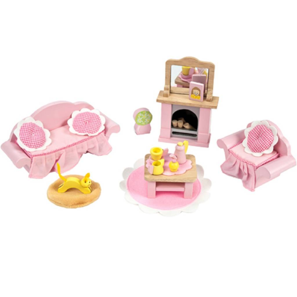 Hape Keuken Accessoires : Le Toy Van Daisylane Poppenhuis Woonkamer