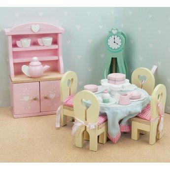 Le Toy Van Daisylane Poppenhuis Eetkamer