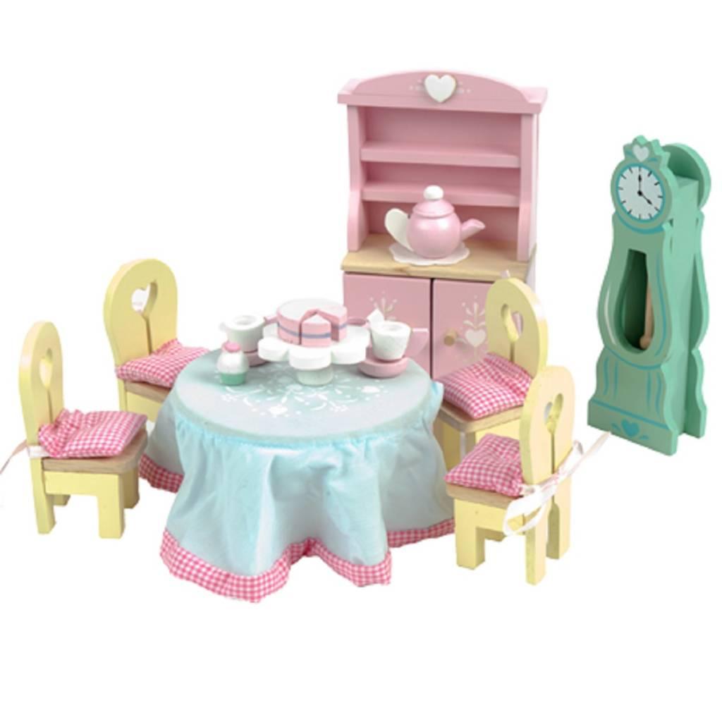 Hape Keuken Accessoires : Le Toy Van Daisylane Poppenhuis Eetkamer