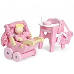 Le Toy Van Poppenhuis Baby Set
