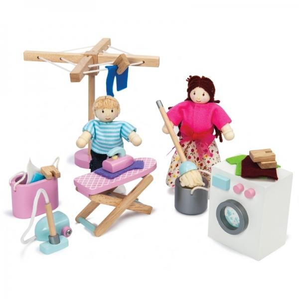Le Toy Van poppenhuis Wasserette Set
