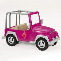 Our Generation Poppen Auto 4x4 Jeep Roze