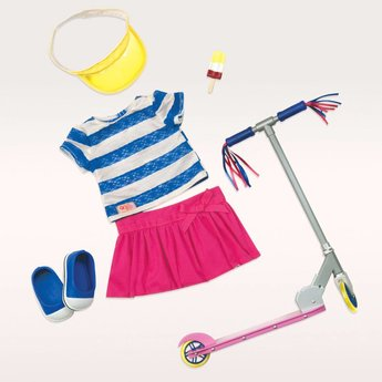 Our Generation Poppenkleding Cute to Scoot