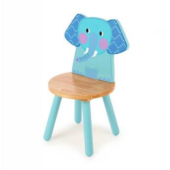 Tidlo Houten kinderstoel Olifant