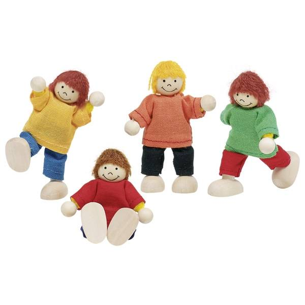 Goki Poppenhuis Kinderen