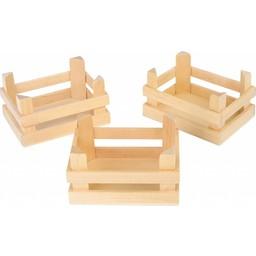 Legler Houten Kistjes - 3 stuks