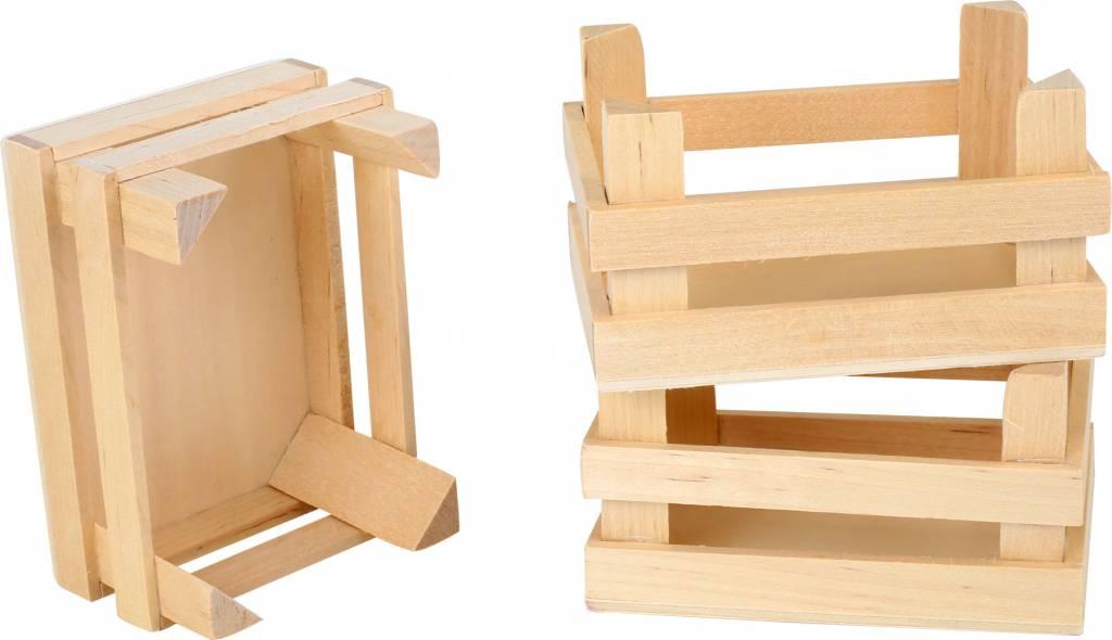 Legler Houten Kistje - 3 stuks
