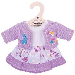 Bigjigs Lilla vest met jurk 30 cm