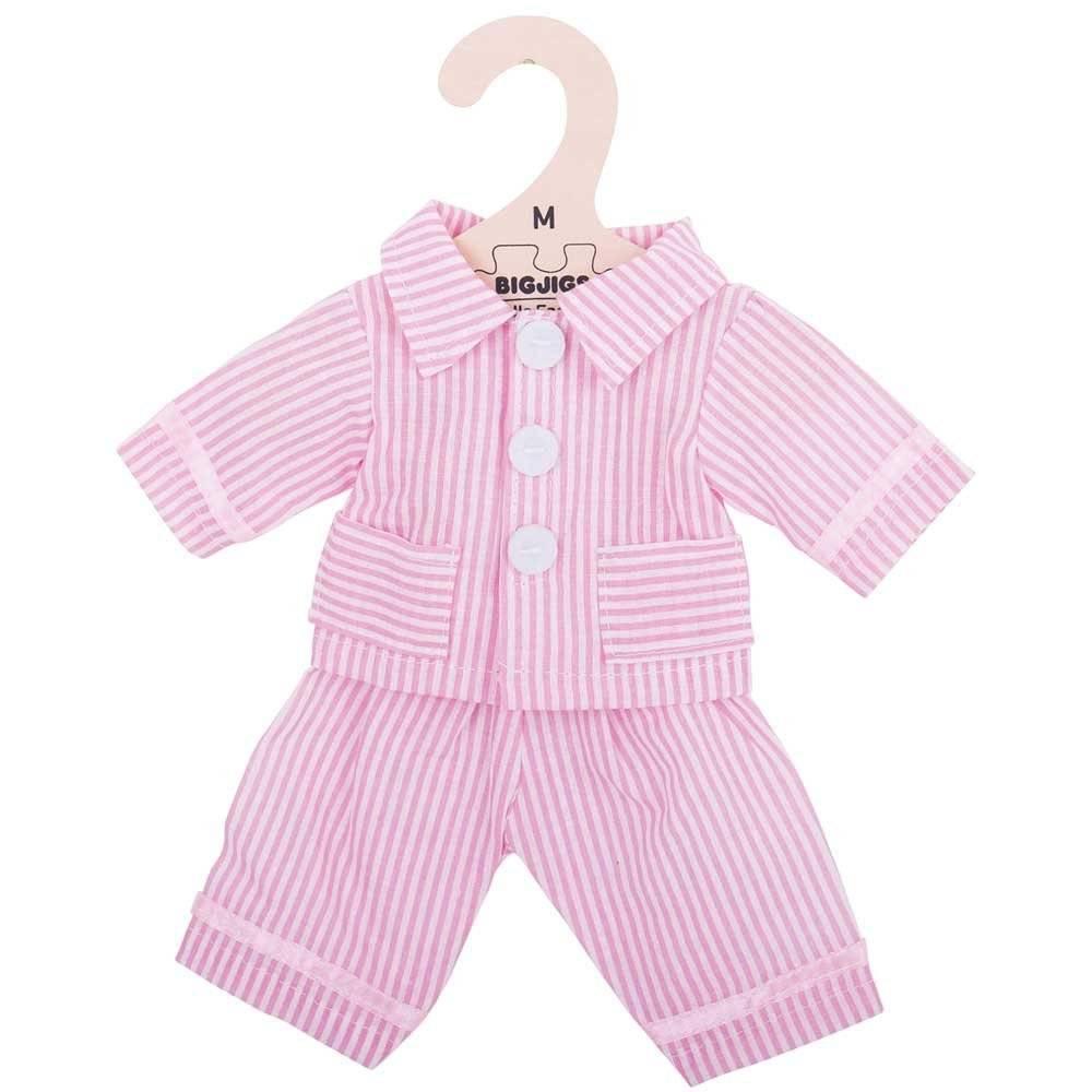 Bigjigs Pyjama Roze 30 cm