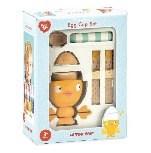 Le Toy Van Gekookt Eitje Chicky Chick