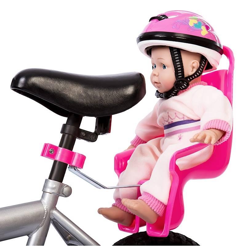 Mini Mommy Poppen Fietsstoel Roze
