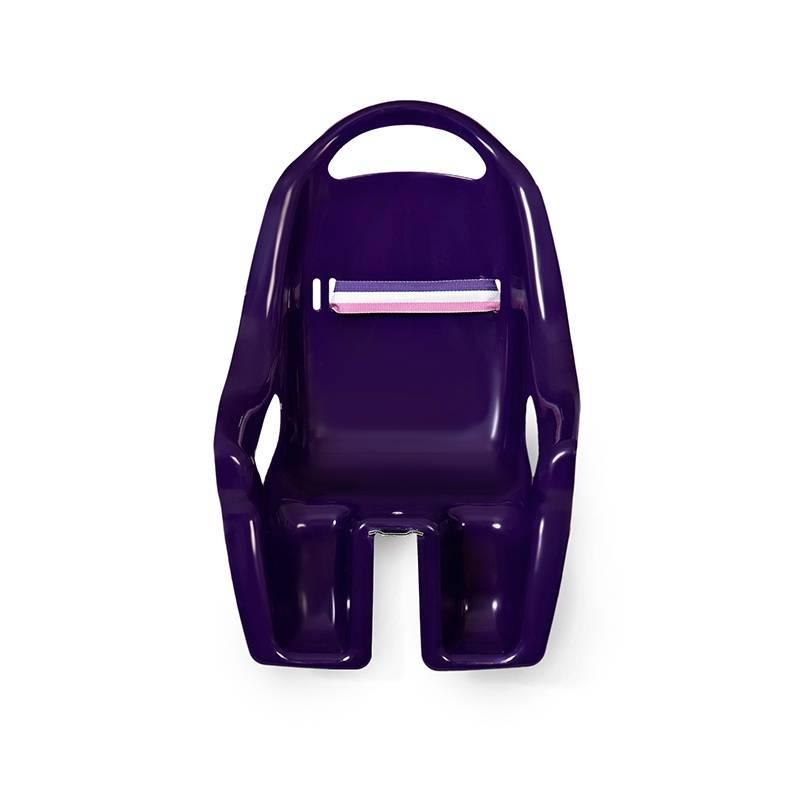 Mini Mommy Poppen Fietsstoel Paars
