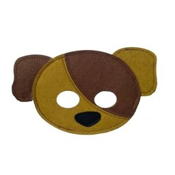 MaMaMeMo Vilten Mini Masker Hond