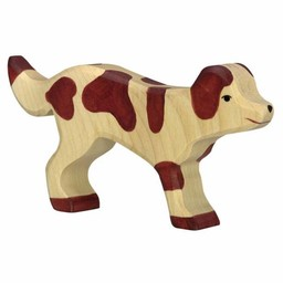 Holztiger Boerderij Hond 14 cm