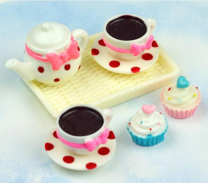 Droomdeurtjes Theesetje met Cupcakes