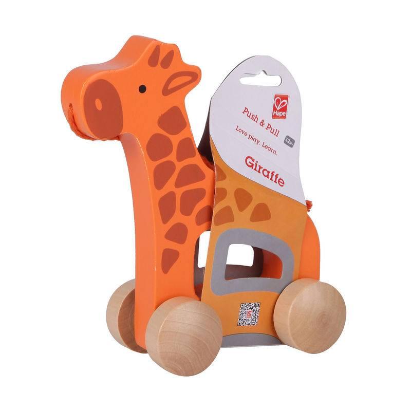 Hape Trekdier Giraffe