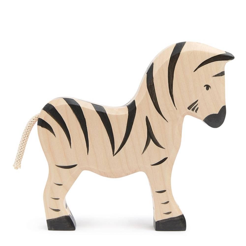 Holztiger Zebra 15 cm