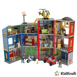 Kidkraft Everyday Heroes houten speelset