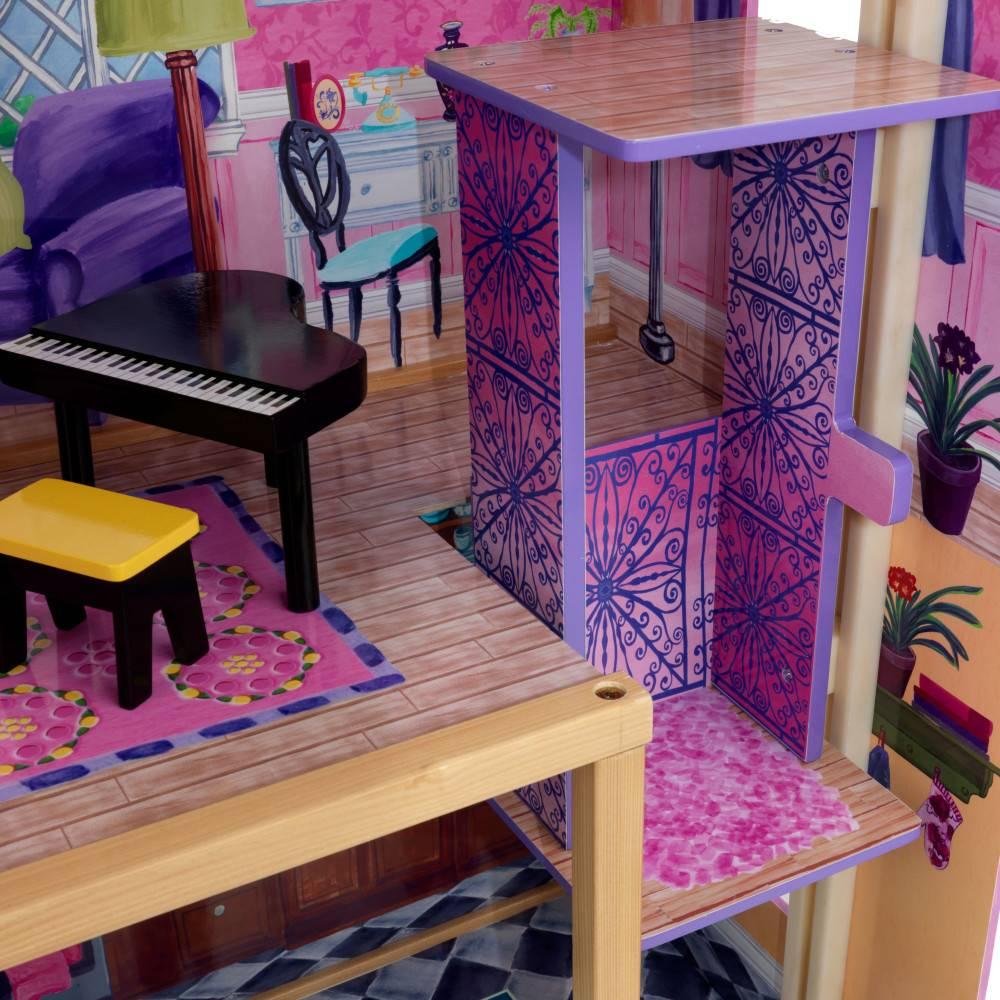 Kidkraft mijn droomvilla barbiehuis gratis verzending for Barbiehuis meubels