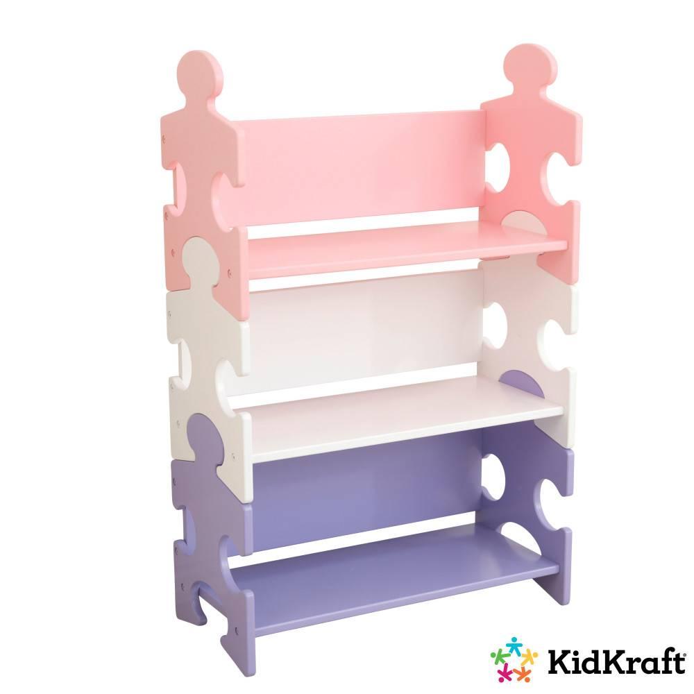 kidkraft boekenkast puzzel pastelkleurig kidkraft boekenkast puzzel pastelkleurig