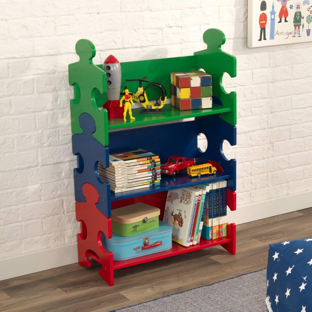 Kidkraft Boekenkast Puzzel Primaire Kleuren