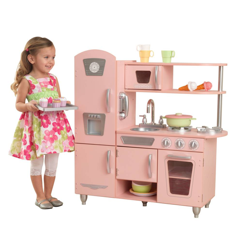 kidkraft roze vintage keuken gratis verzending het houten poppenhuis. Black Bedroom Furniture Sets. Home Design Ideas