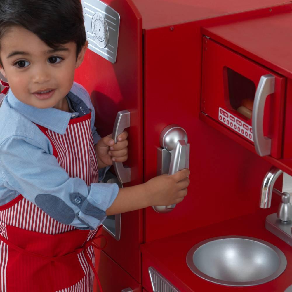 Kidkraft Rode vintage kinderkeuken
