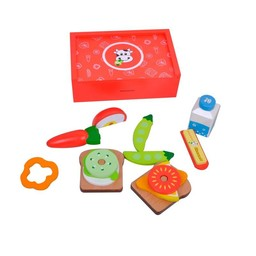 MaMaMeMo Lunch Box Rood