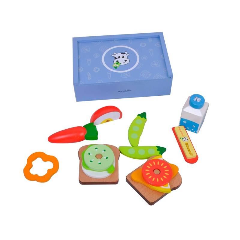 MaMaMeMo Lunch Box Blauw